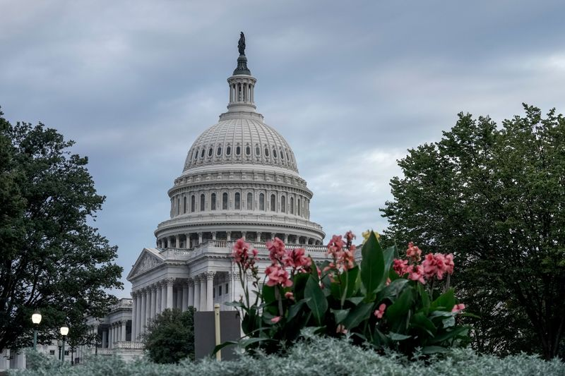 FILE PHOTO: Scenes of the U.S. Capitol early in the morning in Washington, D.C. amid COVID-19 concerns