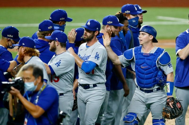 MLB: NLDS-Los Angeles Dodgers at San Diego Padres