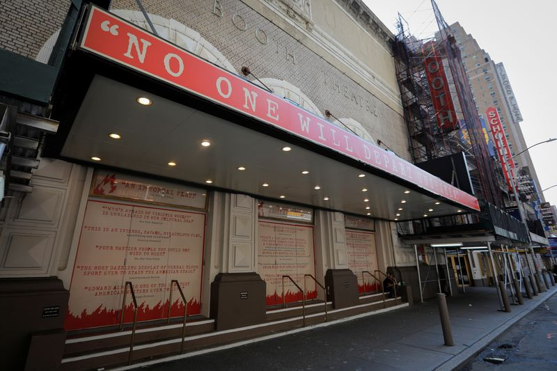Broadway theaters to remain closed until January 2021 in New York