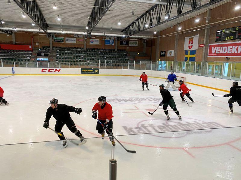 Ice hockey during the coronavirus disease (COVID-19) pandemic, in Gothenburg