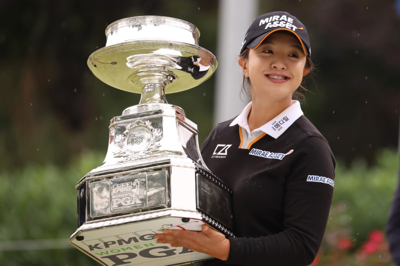 Candescent Kim wins Women's PGA Championship by five shots