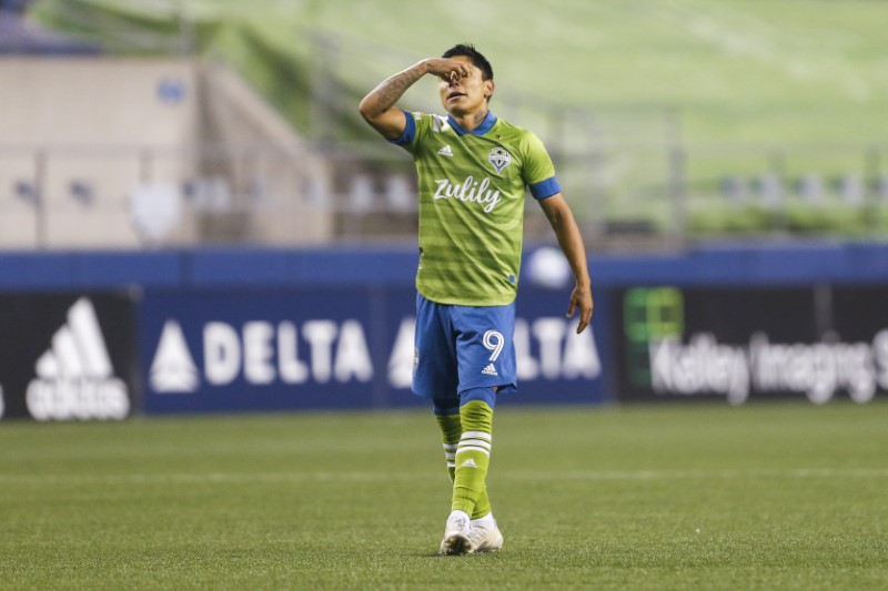 FILE PHOTO: MLS: Vancouver Whitecaps FC at Seattle Sounders FC