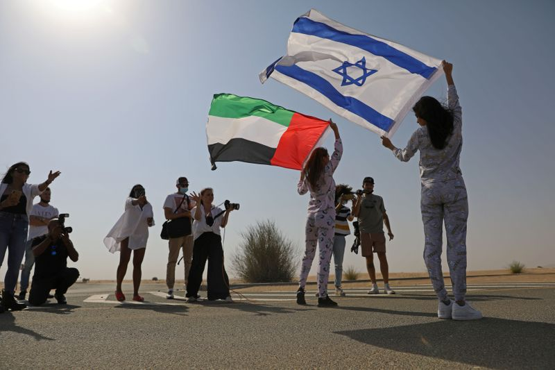 FILE PHOTO: Israeli fashion brand uses Dubai for photo shoot