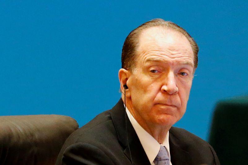 FILE PHOTO: World Bank President David Malpass attends the