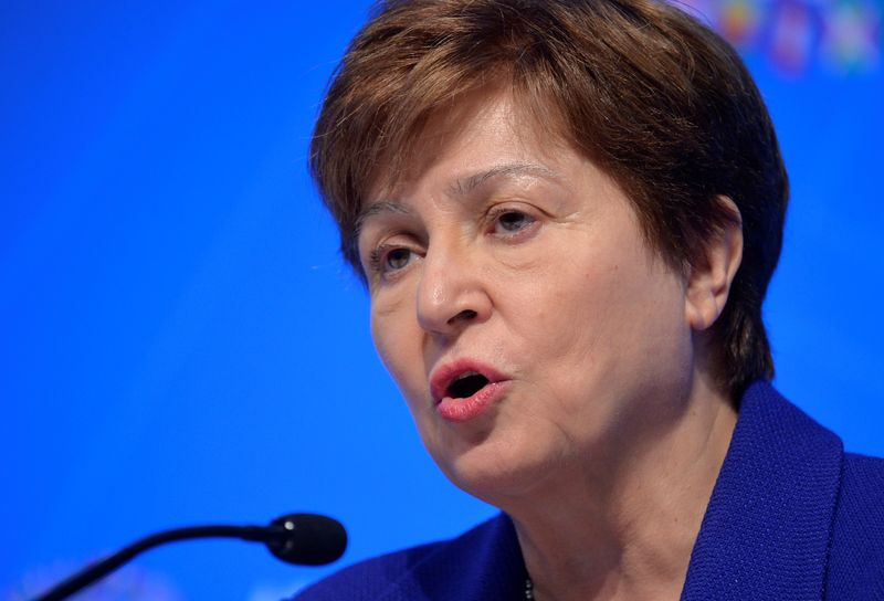 FILE PHOTO: IMF and World Bank hold Annual Meetings in Washington