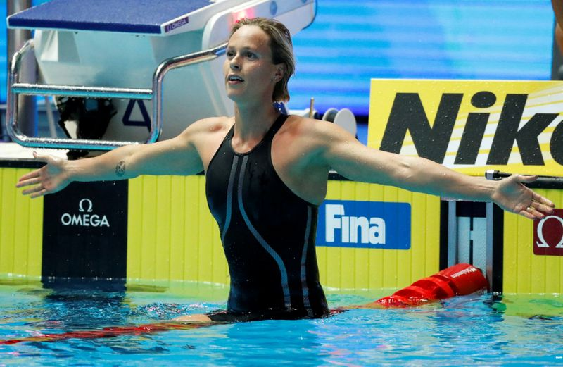 FILE PHOTO: Swimming - 18th FINA World Swimming Championships