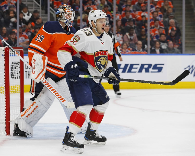 NHL Florida Panthers at Edmonton Oilers