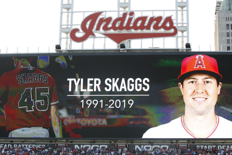 Former Angels employee indicted in Tyler Skaggs' fatal overdose