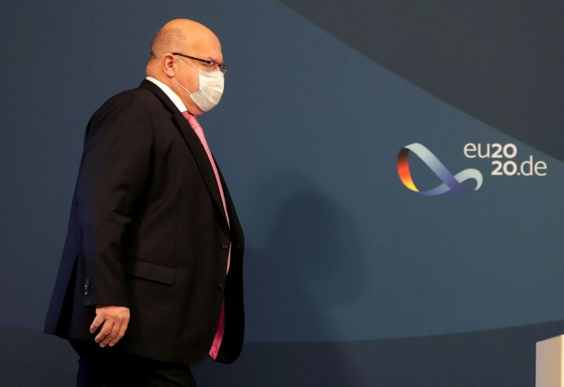 FILE PHOTO: Germany's Altmaier hosts informal EU energy ministers meeting in Berlin