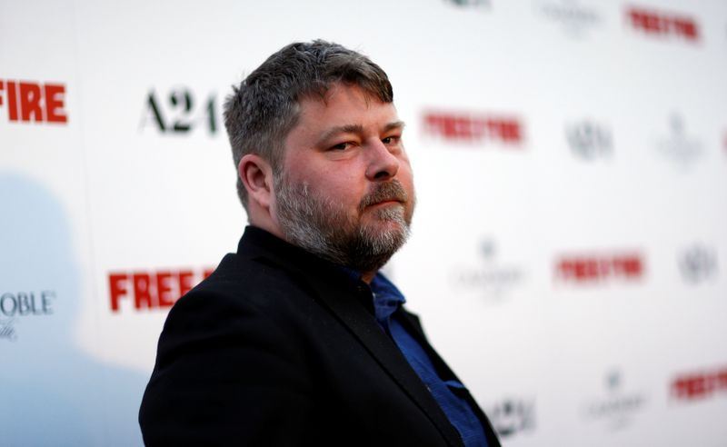 Director of the movie Wheatley poses at the premiere of