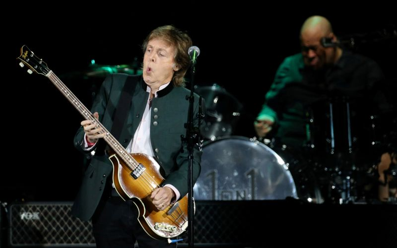 FILE PHOTO: Paul McCartney performs during the