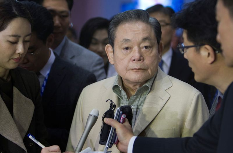Samsung Chairman Lee Kun-Hee Dies at 78 in Seoul Hospital