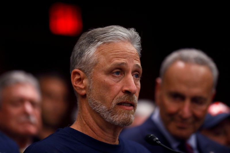 FILE PHOTO: Jon Stewart, former host of Comedy Central's