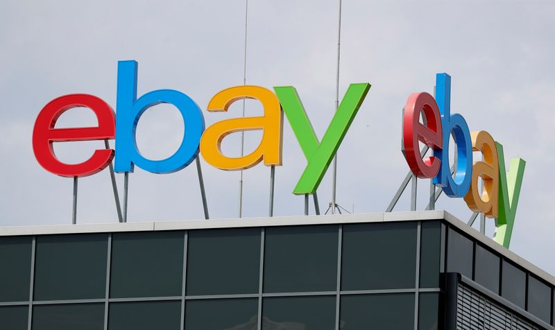 The German headquarters of eBay is pictured at Europarc Dreilinden business park south of Berlin in Kleinmachnow