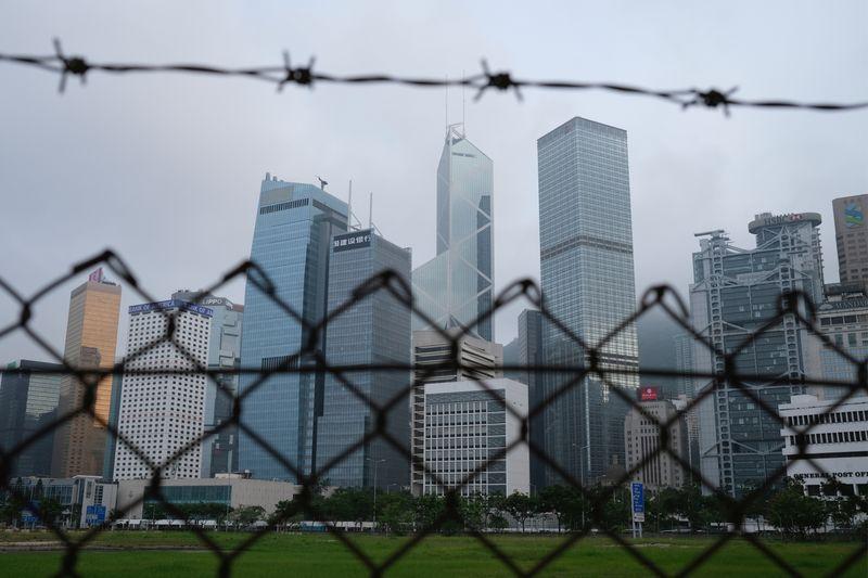 Seven arrested over scuffles in Hong Kong legislature