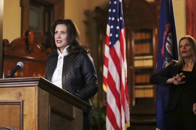Six militia members plotted to kidnap Mich. Gov. Gretchen Whitmer