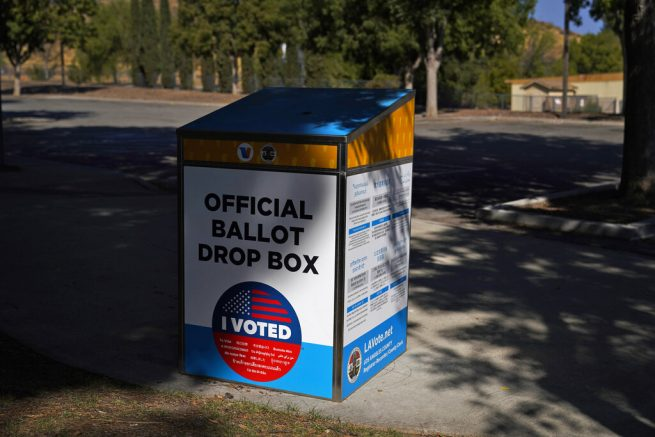California Republicans push back in ballot drop box dispute