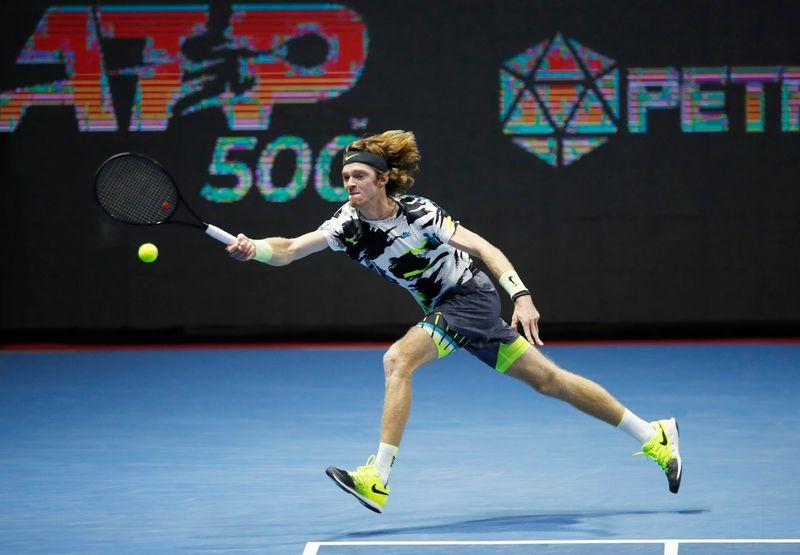 FILE PHOTO: ATP 500 - St Petersburg Open