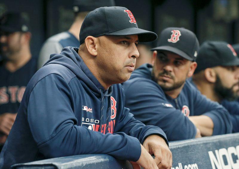FILE PHOTO: MLB: Boston Red Sox at Tampa Bay Rays
