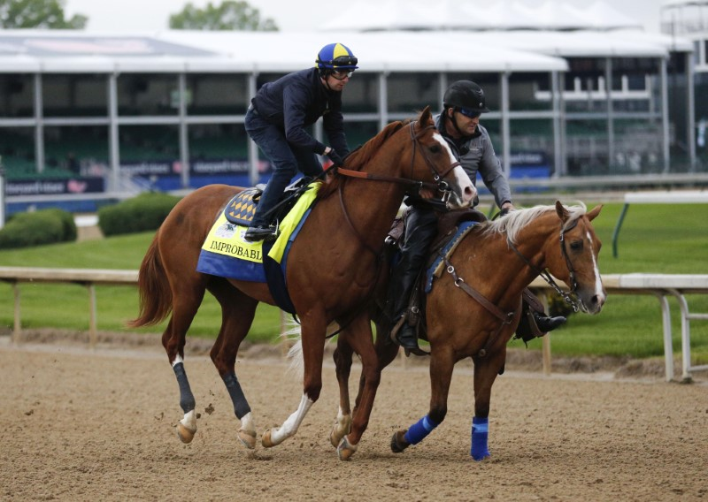 FILE PHOTO: Horse Racing: Kentucky Derby Workouts
