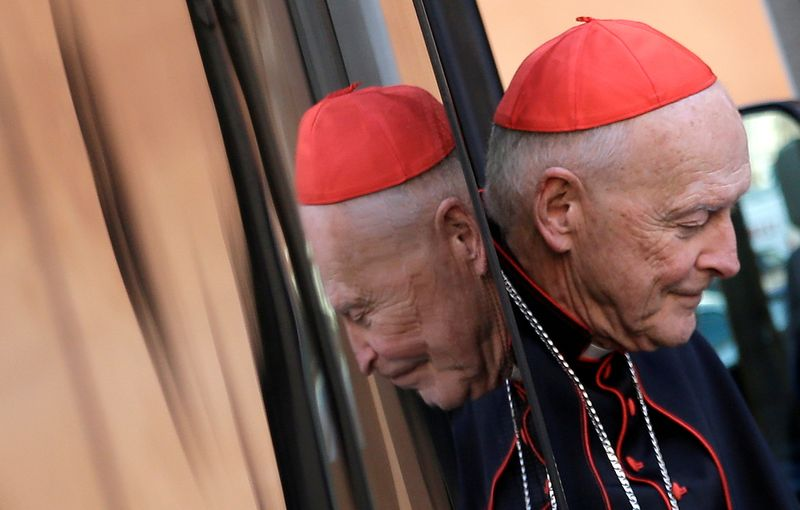 Vatican report denies sexual abuse cover-up over U.S. ex-cardinal