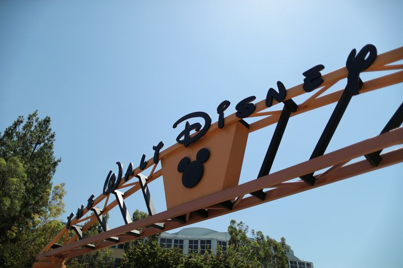 FILE PHOTO: The entrance to Walt Disney studios is seen in Burbank