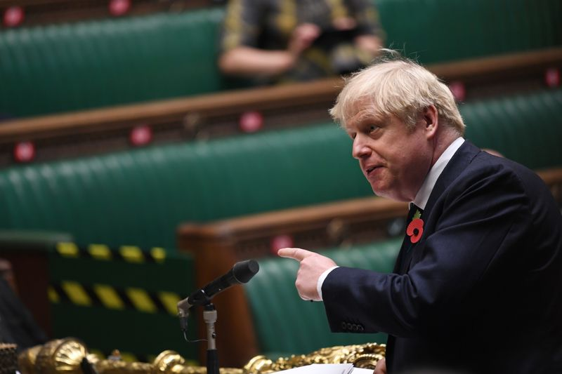 Johnson is forced to self-isolate, hampering United Kingdom  agenda drive