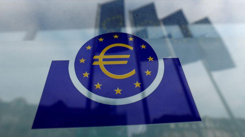 FILE PHOTO: FILE PHOTO: The European Central Bank logo