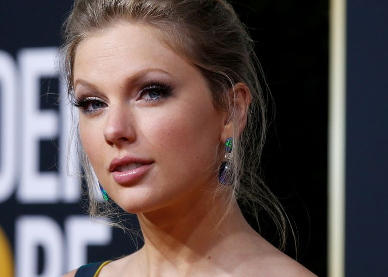 FILE PHOTO: 77th Golden Globe Awards - Arrivals - Beverly Hills, California, U.S., January 5, 2020 - Taylor Swift