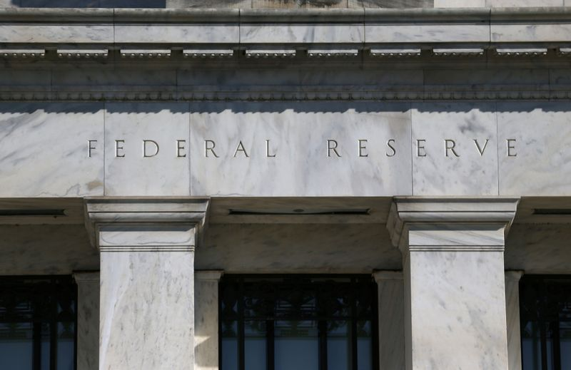 FILE PHOTO: Federal Reserve Board building on Constitution Avenue is pictured in Washington