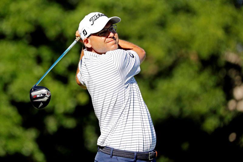 FILE PHOTO: PGA: Charles Schwab Challenge - First Round