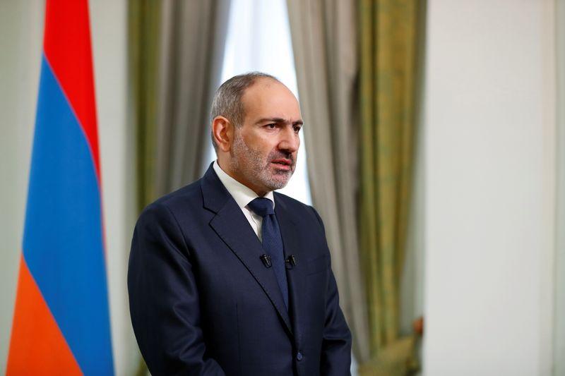 Armenian Prime Minister Nikol Pashinyan addresses the nation in Yerevan