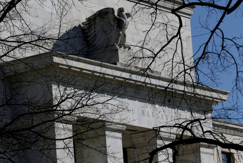 FILE PHOTO: FILE PHOTO: Federal Reserve Board building on Constitution Avenue is pictured in Washington