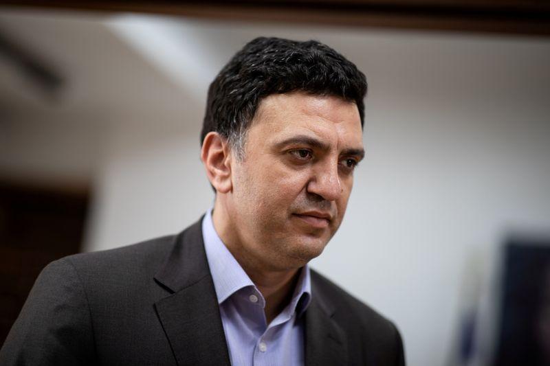 FILE PHOTO: Greek Health Minister Kikilias during the coronavirus disease (COVID-19) outbreak, in Athens