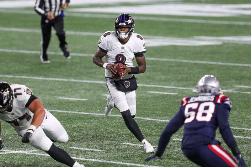 FILE PHOTO: NFL: Baltimore Ravens at New England Patriots