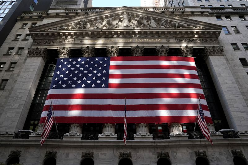 The New York Stock Exchange is pictured