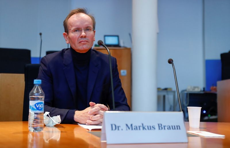 Former Wirecard CEO testifies before German parliamentary committee in Berlin
