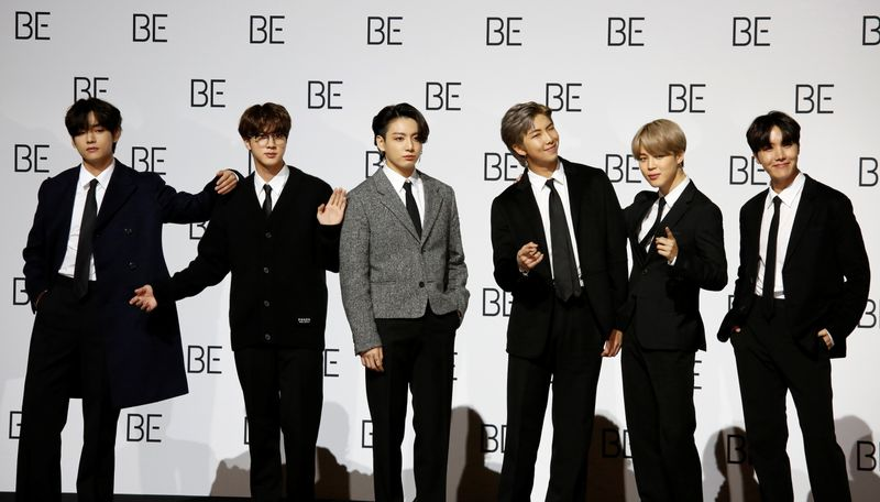 Kpop 'BTS debuts 'BE album track 'Life Goes On