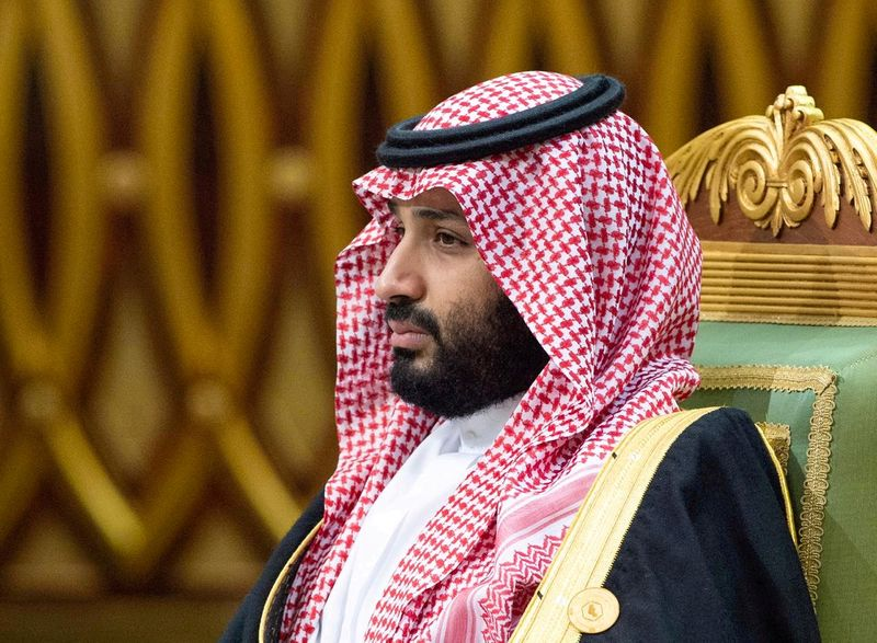 FILE PHOTO: FILE PHOTO: Saudi Arabia's Crown Prince Mohammed bin Salman attends the Gulf Cooperation Council's (GCC) 40th Summit in Riyadh