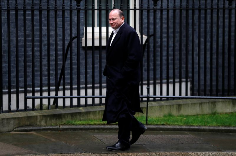 Mark Tucker Chairman of HSBC arrives at 10 Downing Street in London
