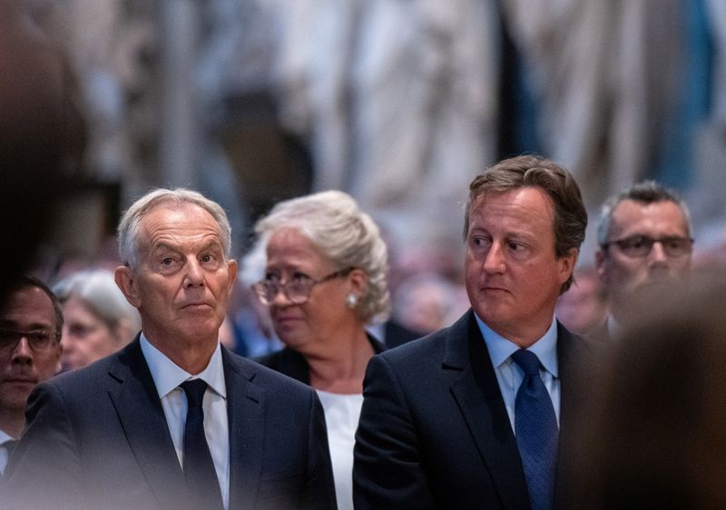 FILE PHOTO: Lord Ashdown Memorial Service at Westminster Abbey