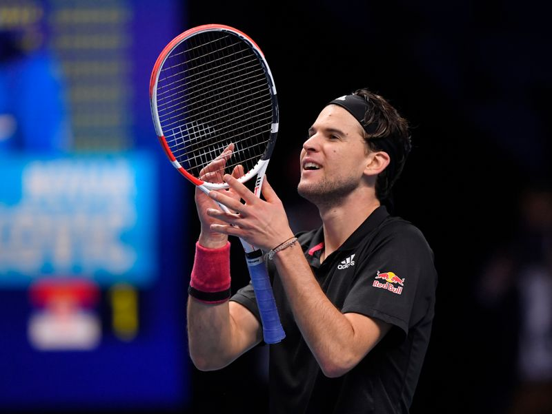 Thiem edges Djokovic in semi-final thriller at ATP Finals