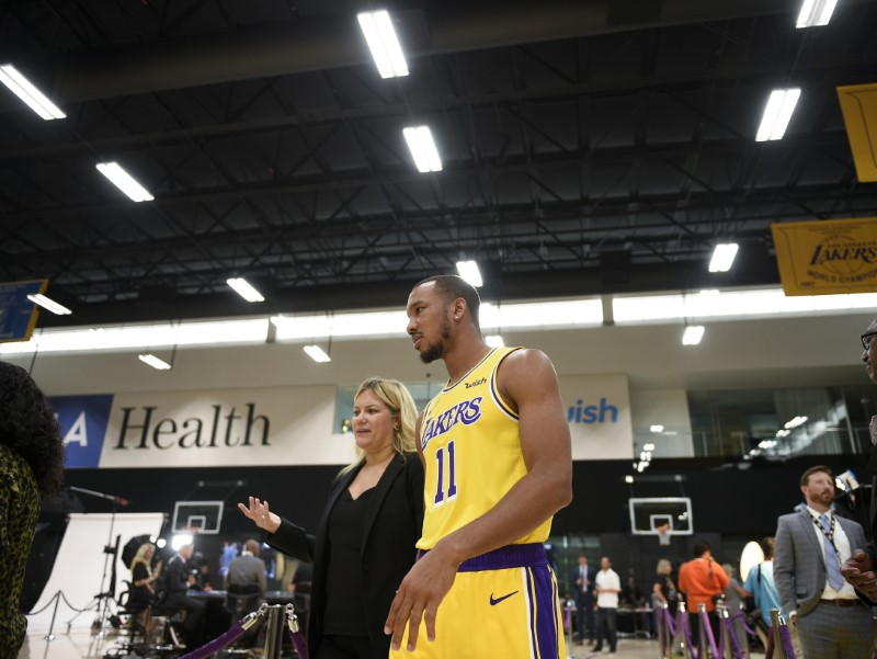 NBA: Los Angeles Lakers-Media Day