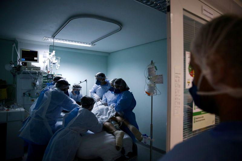 FILE PHOTO: Outbreak of the coronavirus disease (COVID-19), in Brazil