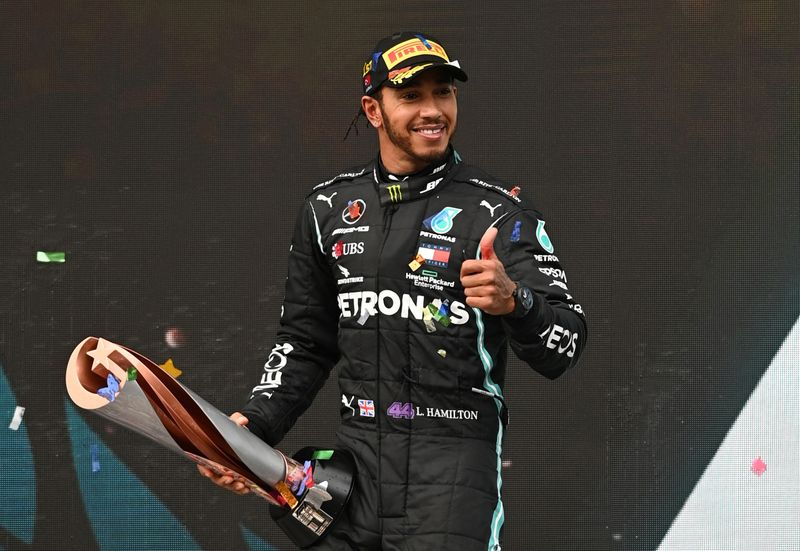 Lewis Hamilton set to be awarded knighthood in New Year`s Honours List