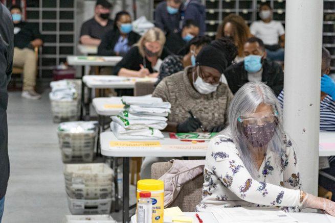 Deadline is near for Georgia hand tally of presidential race