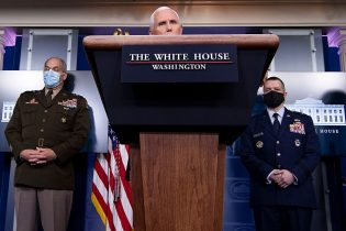 White House COVID task force holds press briefing