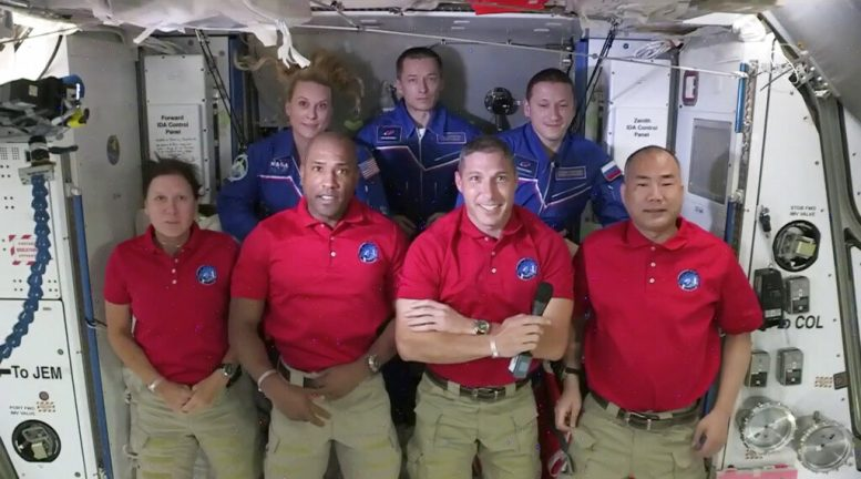 Four astronauts to dock with International Space Station — SpaceX-NASA mission
